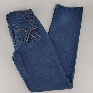 7 For All Mankind Woman's Denim Jeans EUC Size 16